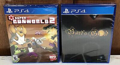 Super GunWorld 2 & Bard's Gold (PS4) Limited Run Games *BUNDLE* PlayStation 4