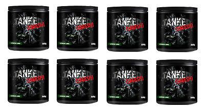 Tanked Smash vor dem Training 50 Portionen Stickstoffmonoxid Muskelaufbau X 8 ()