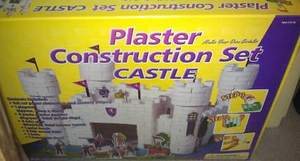 BUILD YOUR OWN PLASTER CASTLE CONSTRUCTION SET BRAND NEW San Remo Wyong Area Preview