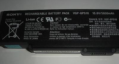 ORIGINAL Battery SONY VAIO VGN-SZ77 SZ78 VGN-SZ5 SZ6 SZ76 VGP-BPS10 GENUINE