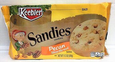Keebler Pecan Cookies - Keebler Sandies Pecan Shortbread Cookies 11.3 oz