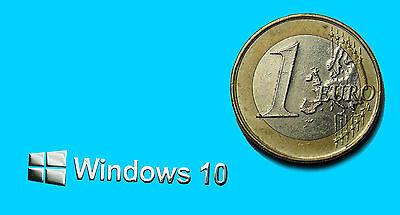 (WINDOWS 10 METALISSED CHROME EFFECT STICKER AUFKLEBER 30x6mm [255])