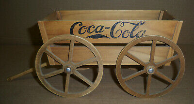 COCA COLA OLD STYLE WOOD WAGON Advertising COKE