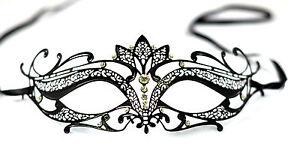 Diamante-Luxury-Venetian-Style-Metal-Filigree-Masquerade-Mask-Prom-Ball-Verona