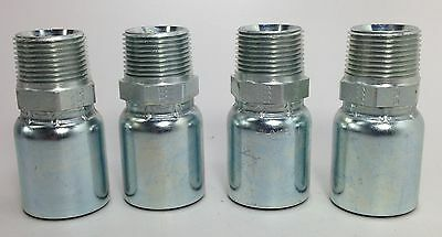 Parker 101hy 16 16 1 Hydraulic Hose Fittings Set Of 4 New