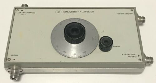 HP Model 394A, Variable Attenuator