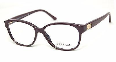 New Versace MOD.3177 VE3177 VE 3177 5066 Eyeglasses Purple Frame Eye-wear Sz52mm