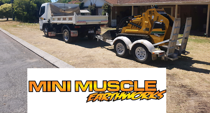 Nsh earthworks bobcat and truck services landscaping for Landscaping quinns rocks