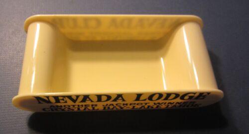 Old Vintage NEVADA CLUB / LODGE  CASINO Chip Tray - Crystal Bay LAKE TAHOE