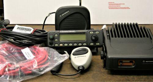Motorola MCS2000 II, Model MO1HX+427W, 110 watt VHF Radio 146-174 MHz COMPLETE
