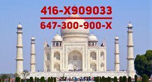 Premium Toronto VIP phone numbers