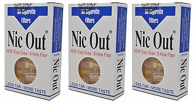 NIC-OUT filters 3-packs NIC OUT 90 Filters Cut The Tar FREE SHIPPING