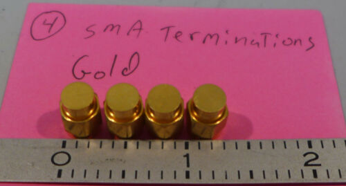 (4) SMA(Male) Terminations Gold