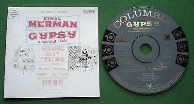 Gypsy Original Broadway Cast Ethel Merman inc Everything's Coming Up Roses + CD ()