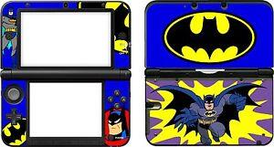 NINTENDO-3dsxl-3DS-XL-Batman-Caricaturas-VINILO-PEGATINA-STICKER-DECAL