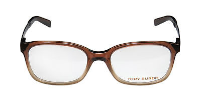 TORY BURCH Women's Brown Ombre 50mm Eyeglass Frames TY2006 $206 NEW