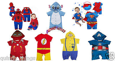 Superhero Comic Baby Toddler Boy Party Costume Fancy Dress Outfit. Fast,UK & new](Halloween Costume Baby Boy Uk)