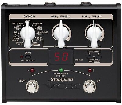 VOX StompLab SL1G Modeling Guitar Floor Multi-Effects Pedal NEW F/S Japan Import