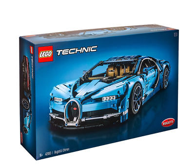 Lego Technic 42083 Bugatti Chiron - New/Boxed