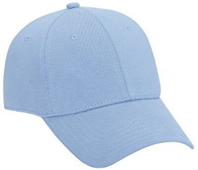 Jersey Knit Low Profile Pro Style Cap, Light Blue