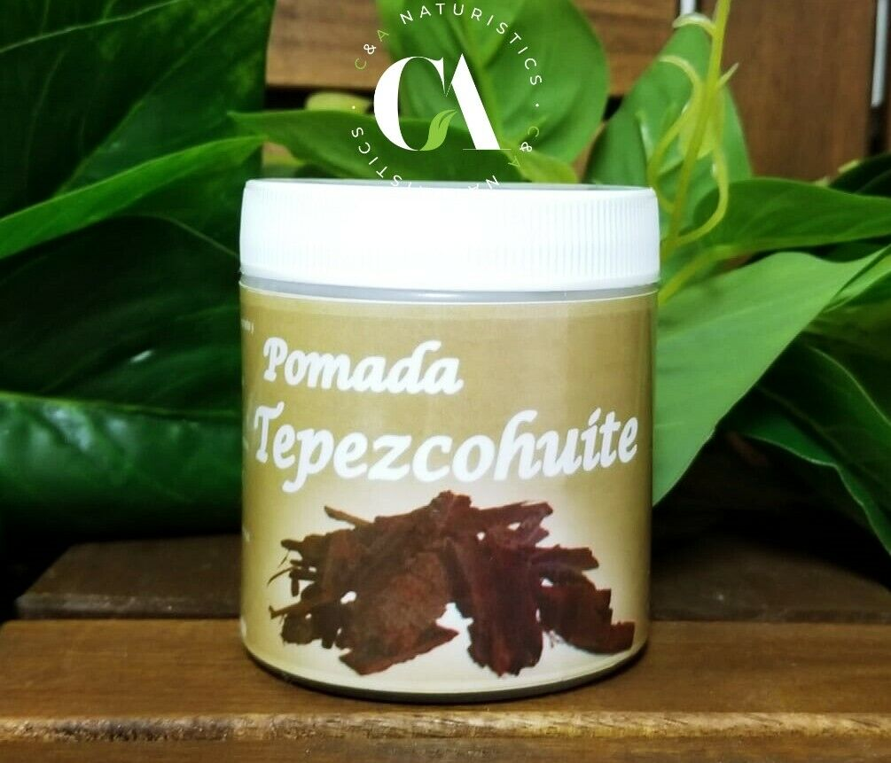 Pomada Tepezcohuite 100% Natural & Original 120 g Ideal para Quemaduras & Mas