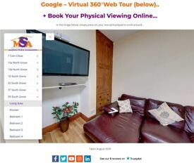 5 Dbl.Bed-Victoria Park Jul 21–Jun 22 - Physical & Virtual 360° Viewings Available (29sg)