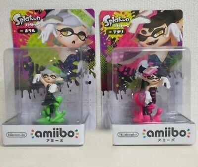 [ SPLATOON ] Amiibo Callie Ayo Marie Oly Squid Sisters Nintendo Figure Toy