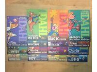 15 ROALD DAHL BOOKS