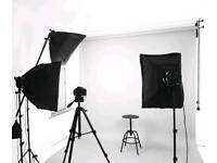 Continuous Lighting Photography Kit - studio lights