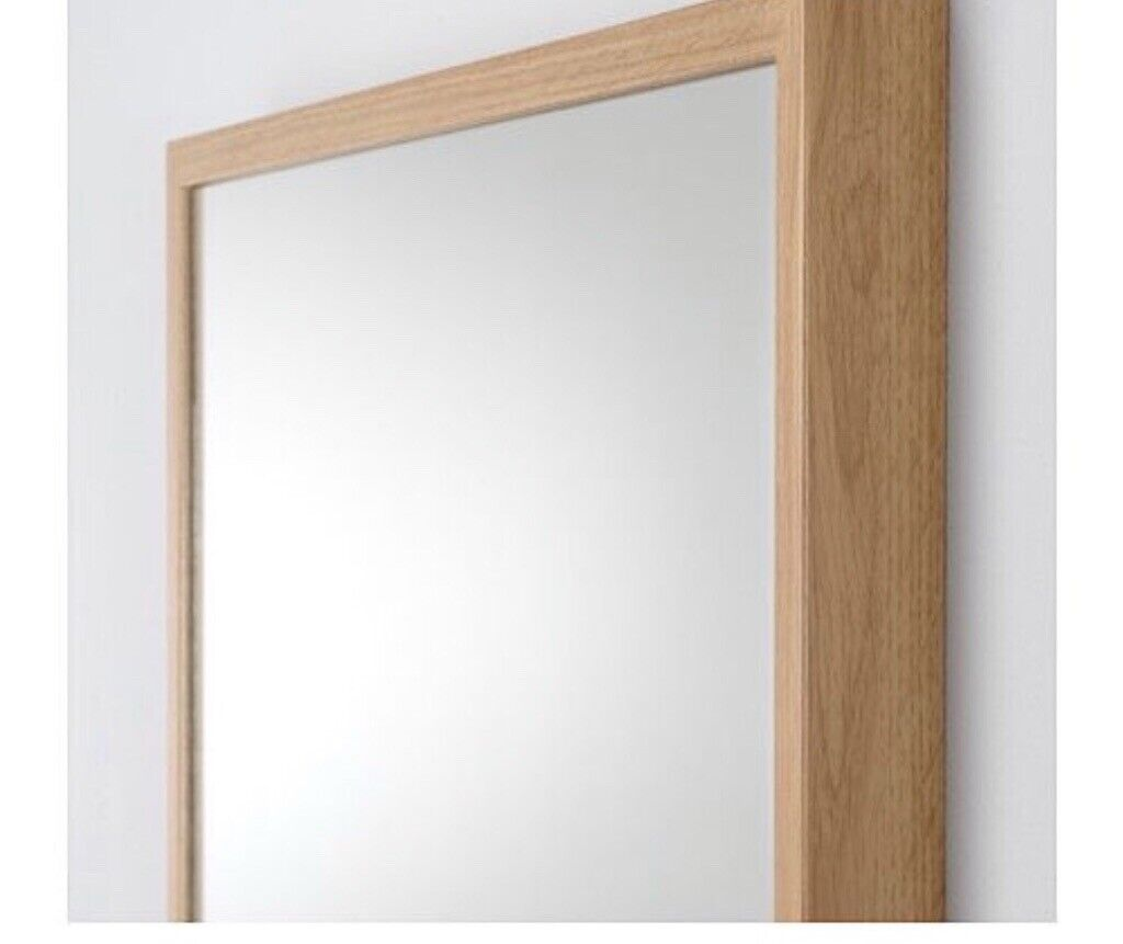 Ikea Stave Full Length Oak Mirror In Newtownards County