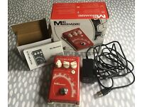 TC Helicon Mic Mechanic Vocal Effects Pedal (hardly used with original power supply, manual & box)