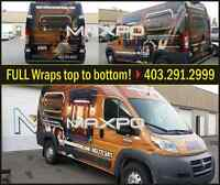 20%OFF ON VINYL WRAPS, VEHICLE WRAPS & CUSTOM GRAPHICS!