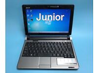 Acer Slim Laptop/Notebook, 2GB Ram, 160GB, Windows 7, office, Excellent Condition, Portable