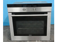 b321 stainless steel siemens single electric oven comes with warranty can be delivered or collected