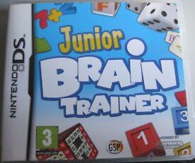 Nintendo DS game - Junior Brain Trainer