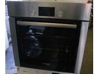 Stainless Bosh built under single oven