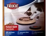 Cat feeder and activity centre