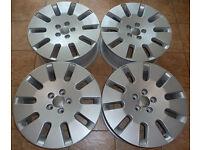 18'' Genuine AUDI Alloy wheels - Winters - MINT!