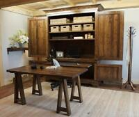 Reclaimed Wood Office Suite Armoire $4195 & More! By LIKEN