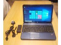 "Blue HP Pavilion G6 - Quad-Core A8, 8GB, 750GB, HD 7640G, 15.6"" Gaming Laptop"