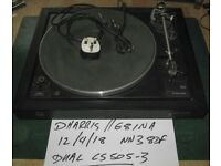 Dual CS505-3 turntable