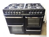 FLAVEL ASPEN 100 DUAL FUEL RANGE COOKER. IMMACULATE CONDITION,CAN DELIVER LOCAL