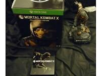 Mortal Kombat XBOX ONE Kollectors Edition