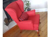 Restored Parker Knoll Wingback Armchair
