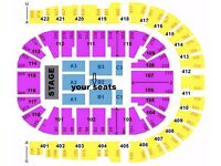 Olly Murs Tickets x3 GOOD CHEAP SEATS B1 row F O2 Arena Sat 1st April £180