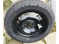 NEVER BEEN FITTED Vauxhall Astra steel wheel, Kumho 205 55 16 tyre