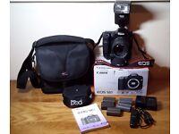 Boxed Semi Pro Canon 50D 15.1MP DSLR Camera Bundle Sigma 28-70 F2.8 Grip + More