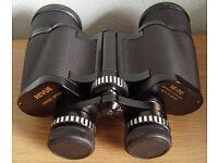 16 x 50 BINOCULARS with case. Coated optics.
