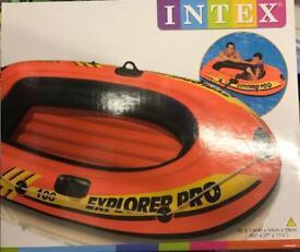Brand new intex explorer PRO 100 boat dingy