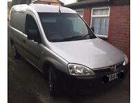 Vauxhall combo Van silver 1.7 turbo diesel estate